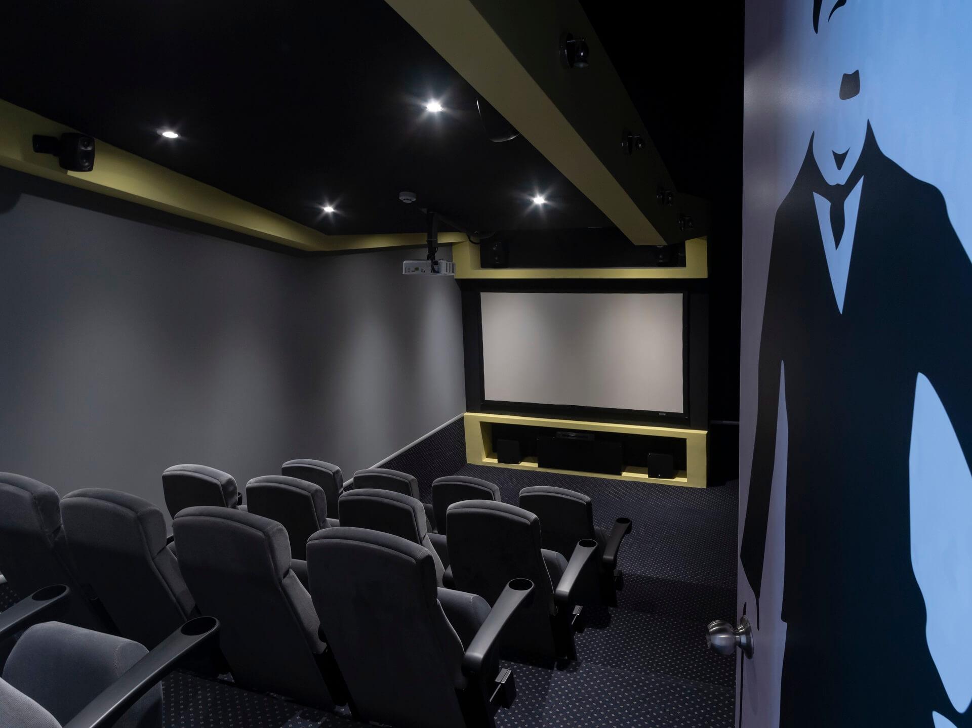 Salón de cine